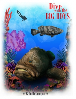 Dive With The Big Boys Reef design
